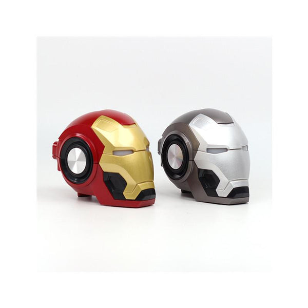 Bluetooth Speaker Iron Man Mark 46 - Silver
