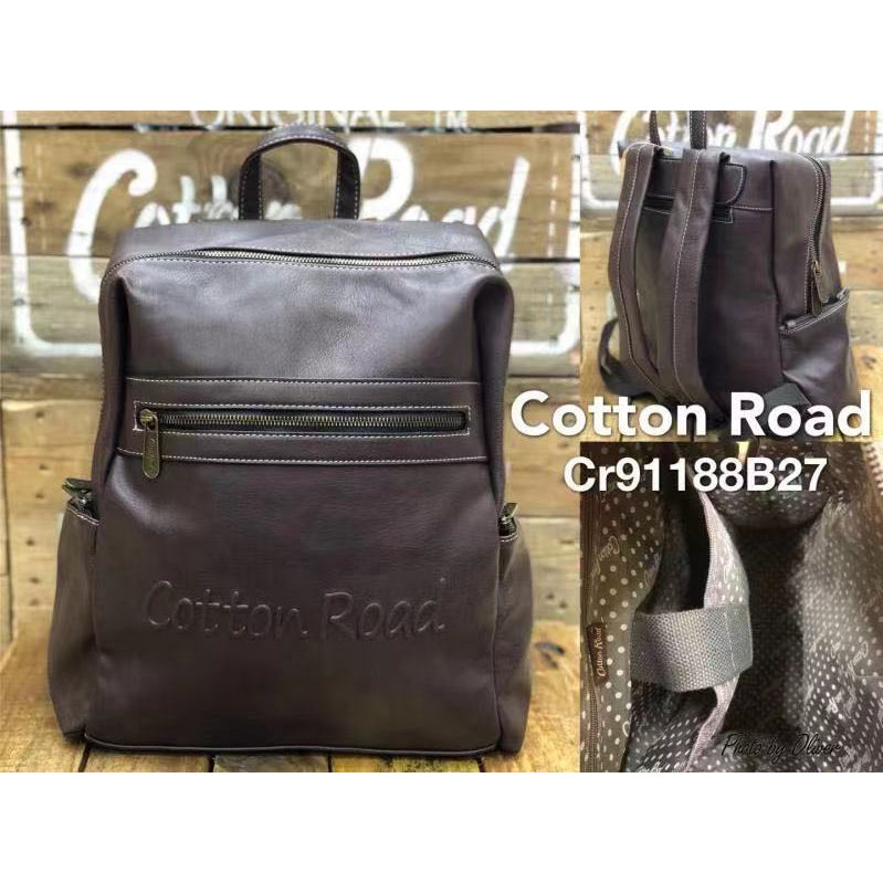 Cotton Road Trendy PU Backpack CR91188-B27