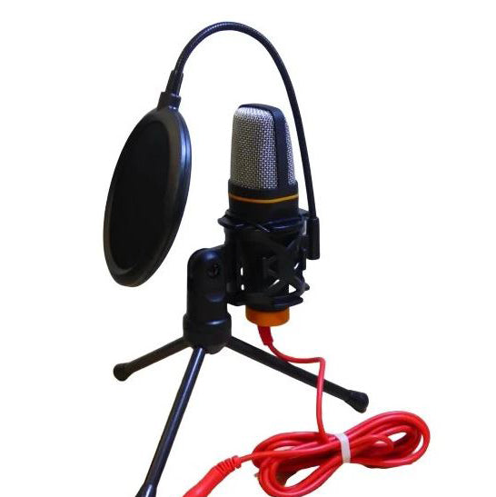 Andowl -Microphone Condenser With Pop Shield- QYK222