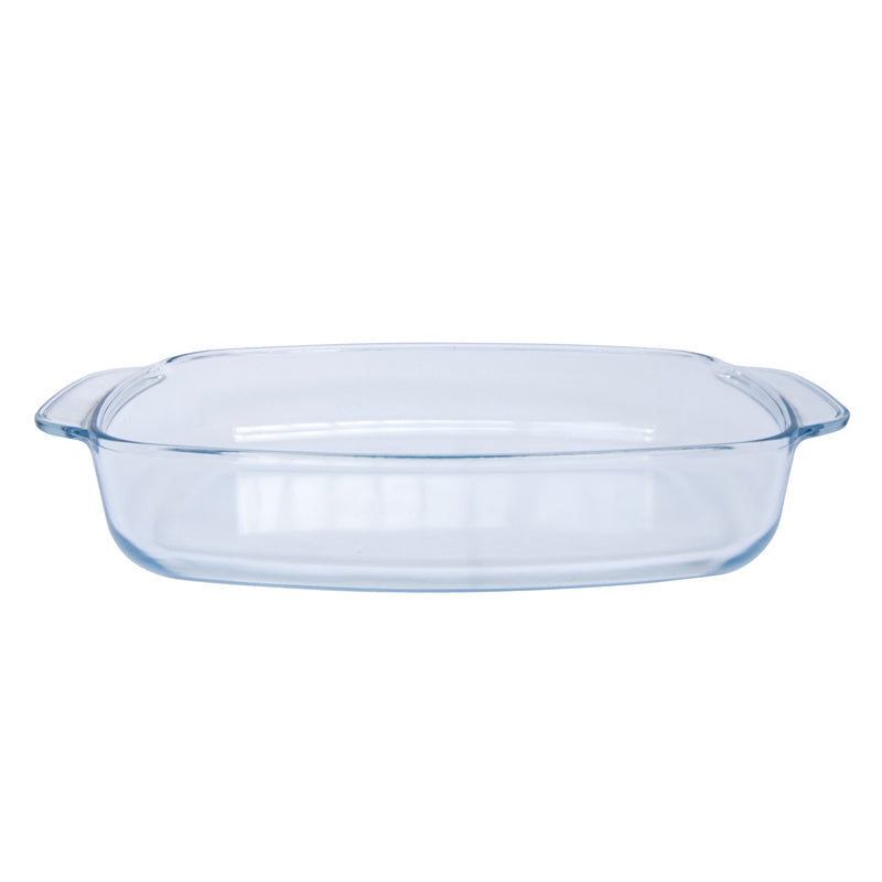 2.3litre glass oven dish