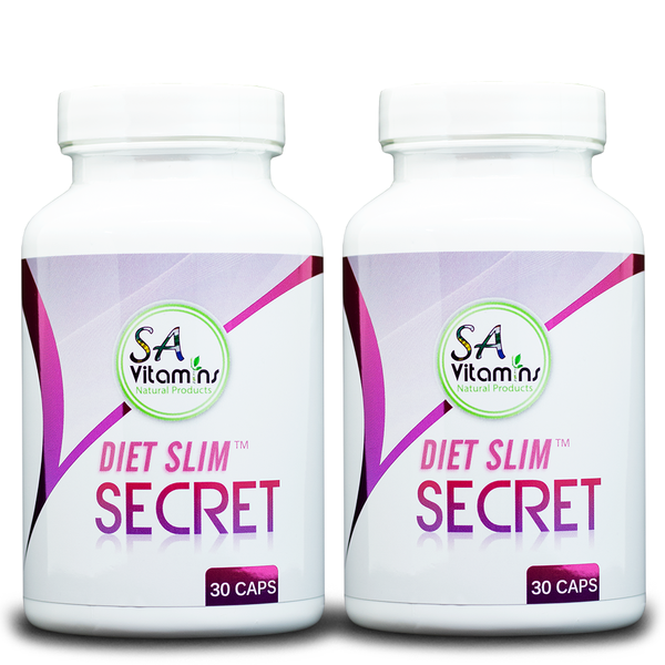 2 X Diet Slim Secret 30 Capsules