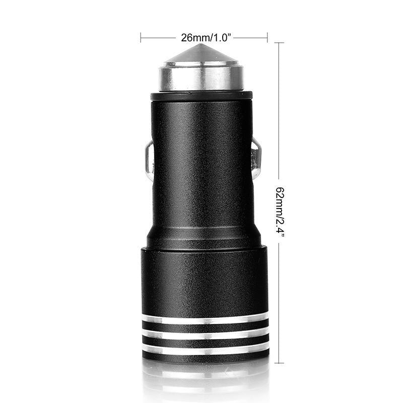 Digitway Dual-port USB Car Charger For R69.99 - iDealDirect - 2