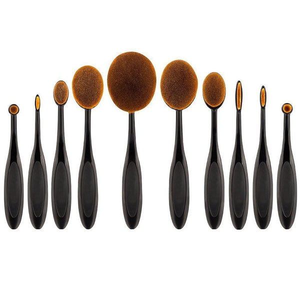 Exclusive 10 Piece Make Up Brush Set