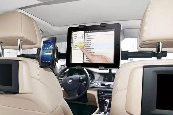 Universal Dual Device Headrest Car Mount