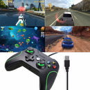 Wired Controller for XBox One - Black & Green