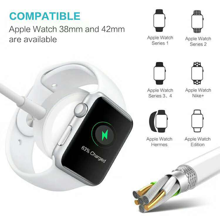 Magnetic Charging and Lightning 2 in 1 Cable 1M