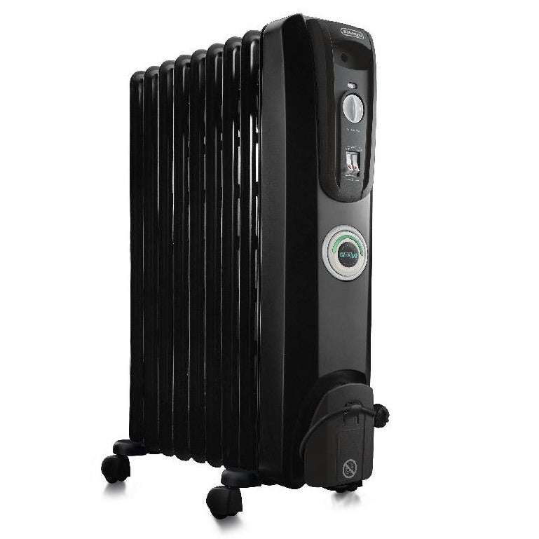 De'Longhi – 9 Fin Oil Filled Radiator Heater – ComforTemp – KH770920CB
