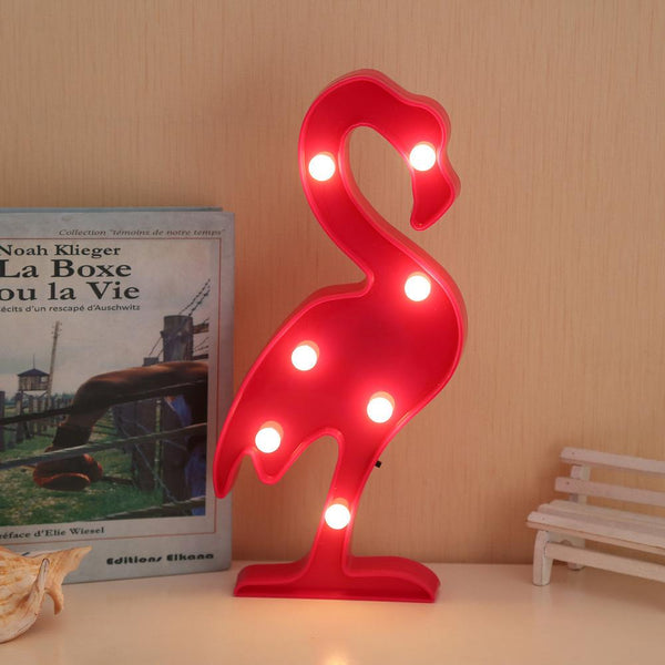 Flamingo Deco Night Light - Table Decoration