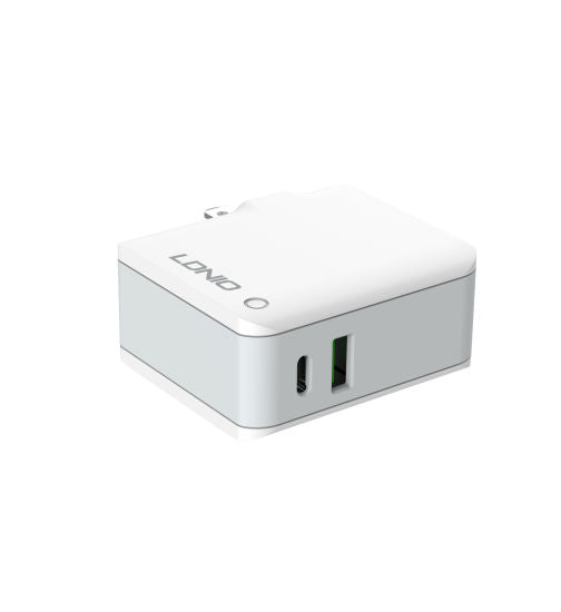 Ldnio Portable Wall Charger A4403C Pd Fast Charging Adapter with 2 Ports