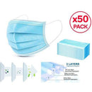 50 Pack - Medical Face Mask 3-Ply