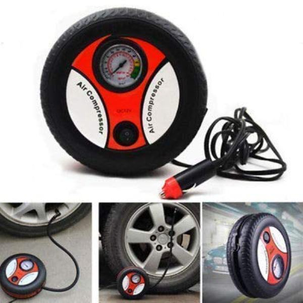 Mini Portable Electric Air Compressor Pump Car Tire Inflator