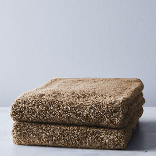 STONE 2 PACK Bath Sheet 450GSM 70x130cm  (2 Free Stone Face Clothes)