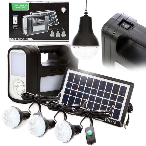 GDLITE Outdoor Camping  Solar Lighting