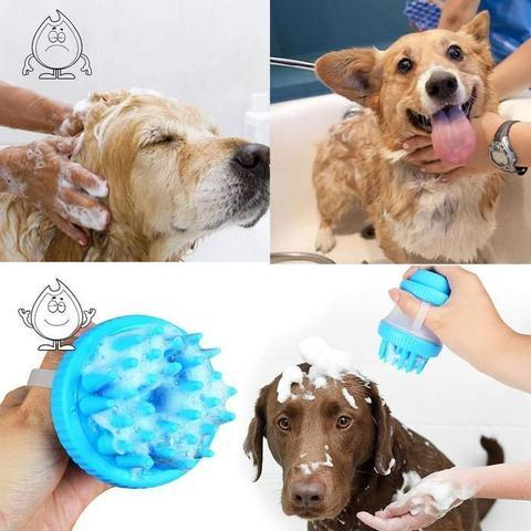 Dog Shampoo Dispenser & Washer