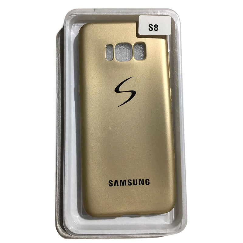 Cellphone Cover S8 Gold