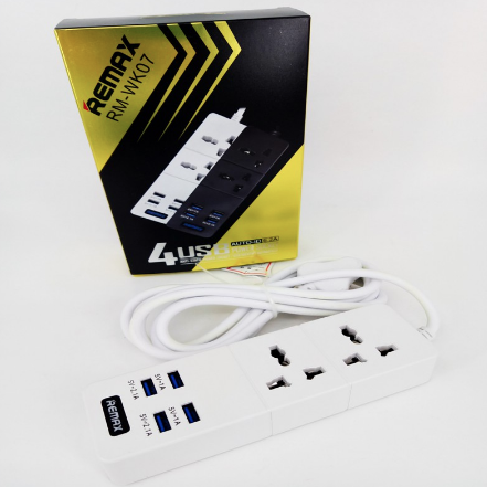 Remax RM - WK07 - 4 USB Power Socket with ADAPTER