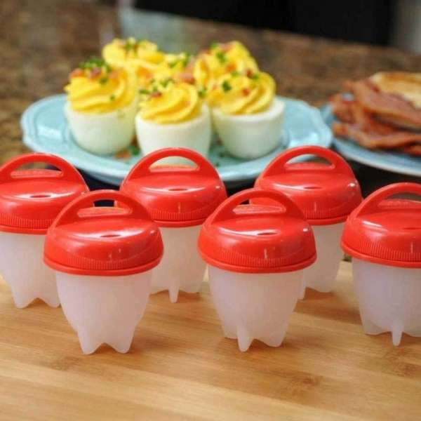 Silicone Egg Boil Pods Handy Kitchen Item