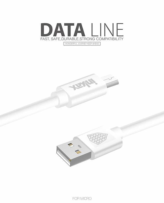 Inkax - Pack of 3 - 1M USB Cable