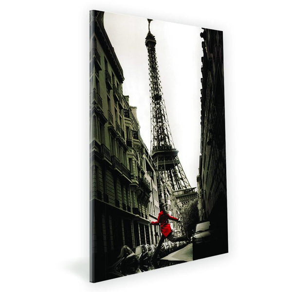50CM x 70CM Paris Eiffel Tower Canvas Print - iDealDirect - 1