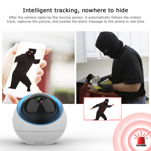 Smart Wireless WiFi Camera with Cloud Storage