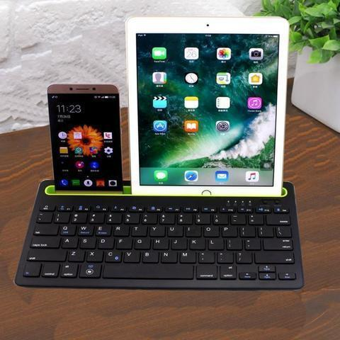 Dual Channel Bluetooth Wireless Keyboard