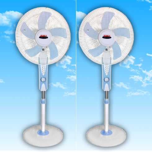 Jerry Power Pack Of 2 Floor Standing Fans