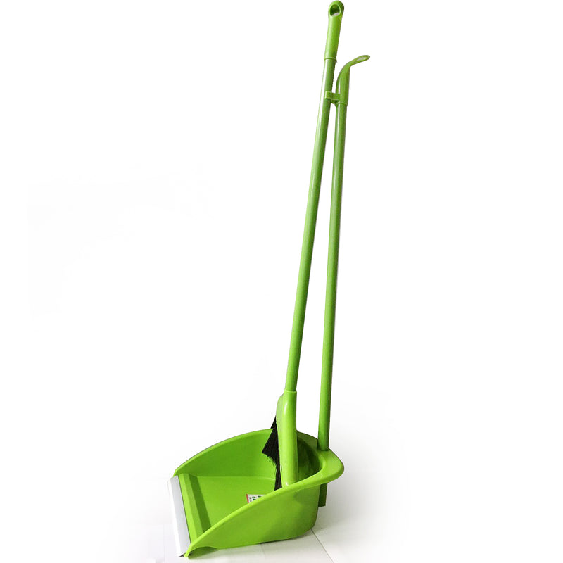 Broom and Dust Pan Set GREEN