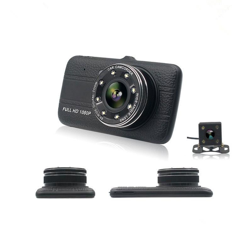 HD Car Dashcam DVR With Dual Camera