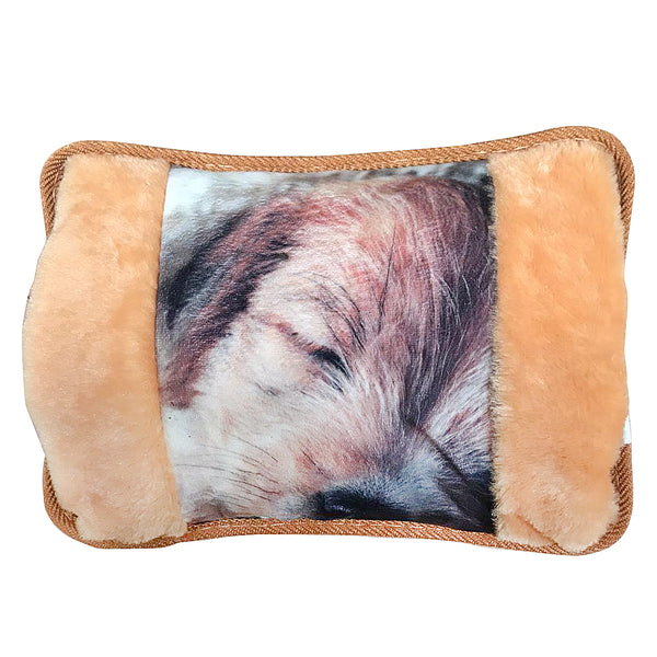 Electric Sleeping Pup Hot Water Bottle