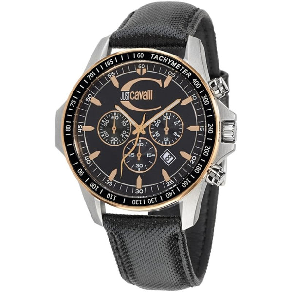 Just Cavalli - ACTUALLY BLACK DIAL