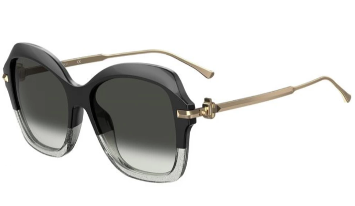 Jimmy Choo Sunglasses - TESSY/G/S 08A BLACK GREY