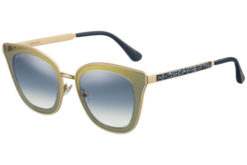 Jimmy Choo Sunglasses - LORY/S KY2 BLUE GOLD