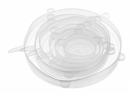 Silicone Lid - White (Set of 6)