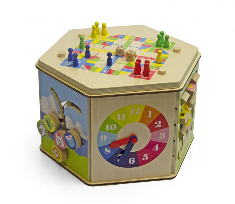 Wooden Learning Hexagon - Large
