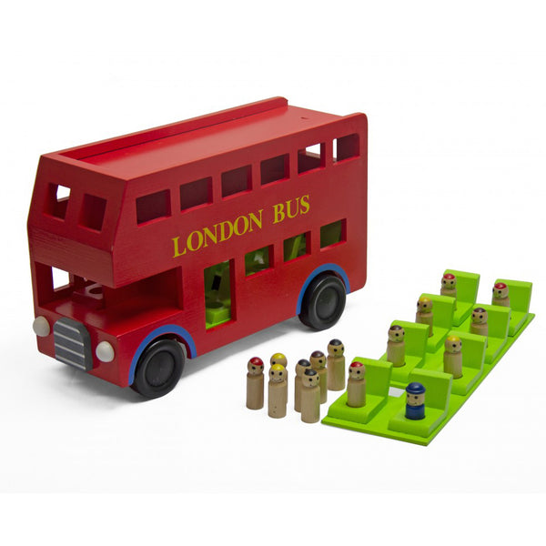 Jeronimo - Wooden London Bus