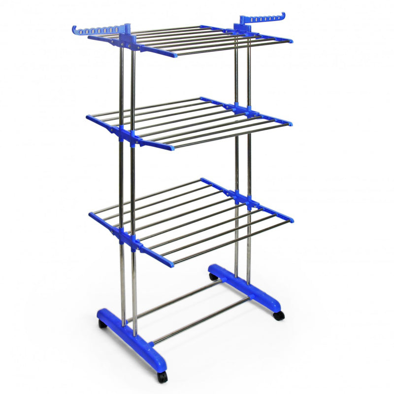 Drying Rack - 3 Layer Multi Hang - Wheels