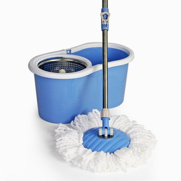 Spin Mop - Figure 8 - Blue Cleaning Bliss