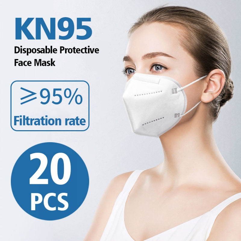 20  Pack - KN95 BFE  Protective Mask