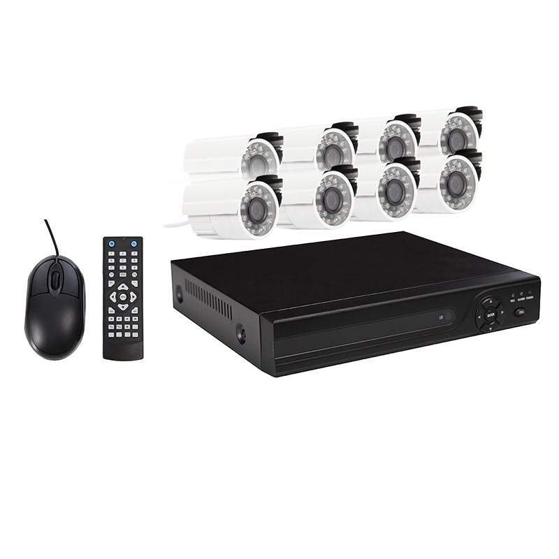 AHD 8 Channel CCTV Security System