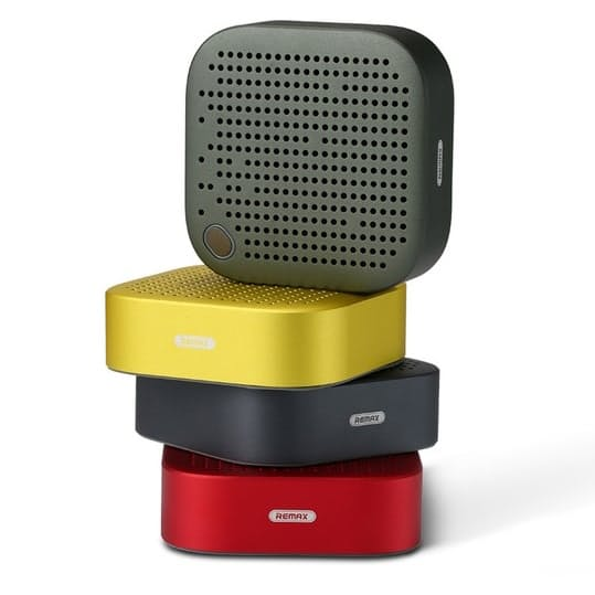 Remax Portable Mini Bluetooth Speaker YELLOW