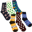 Pack Of 6 Socks SET 4 Assorted Designs