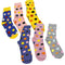 Pack Of 6 Socks SET 5 Assorted Designs