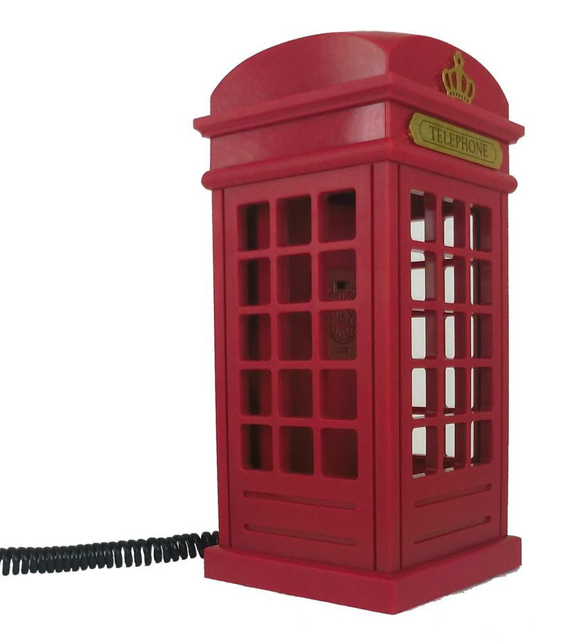 Telephone - Vintage British Phone Booth