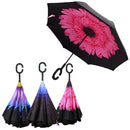 Colourful Inverted Umbrellas