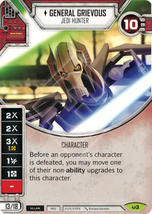 General Grievous - Jedi Hunter (AWK) Rare