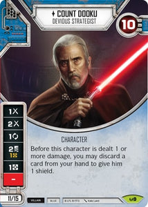 Count Dooku - Devious Strategist (AWK) Rare