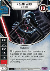 Darth Vader - Sith Lord (AWK) Legendary