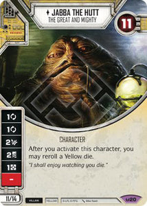 Jabba the Hutt - The Great and Mighty (AWK) Legendary