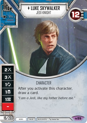 Luke Skywalker - Jedi Knight (AWK) Legendary