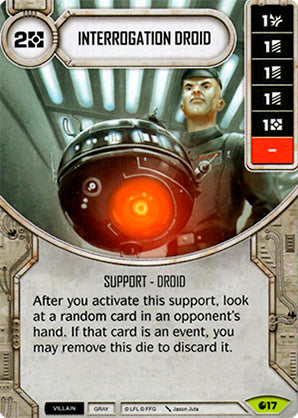 Interrogation Droid (SoR) Rare